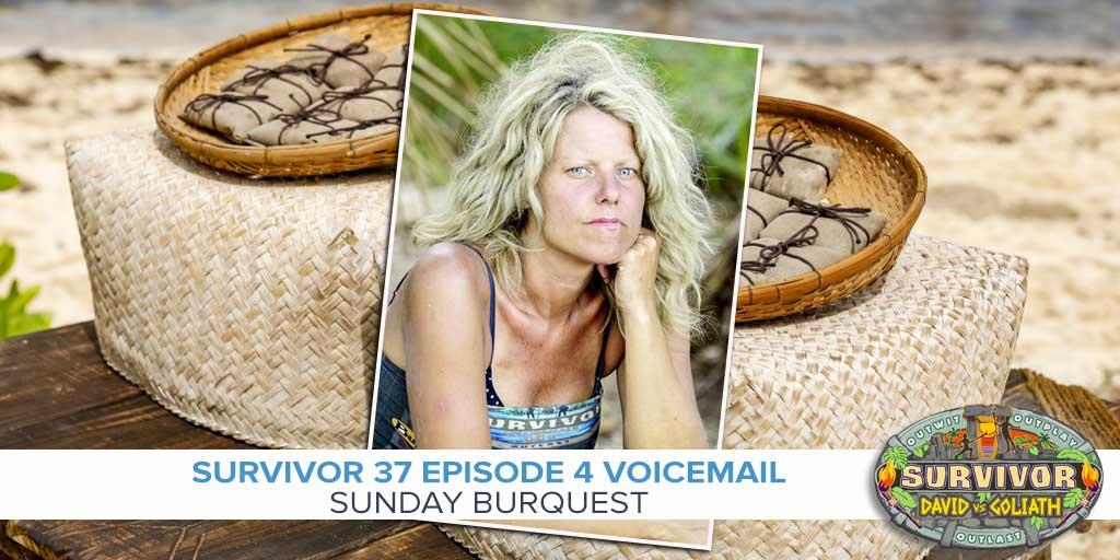 Survivor: David vs Goliath Episode 4 recap with Sunday Burquest