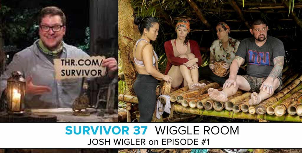 Survivor Wiggle Room: David vs Goliath Season Premiere with Josh Wigler