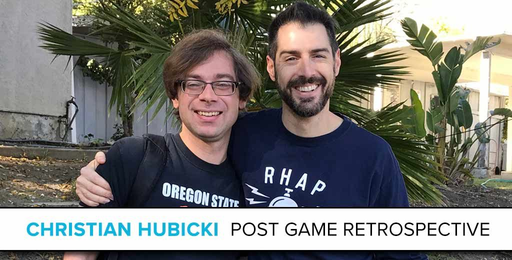 Christian Hubicki: The Survivor Post Game Retrospective