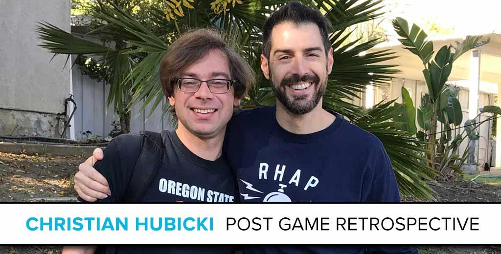 Christian Hubicki: The Survivor Post Game Retrospective
