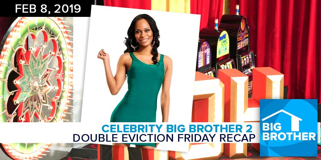 Celebrity Big Brother 2 | Friday Double Eviction Episode
