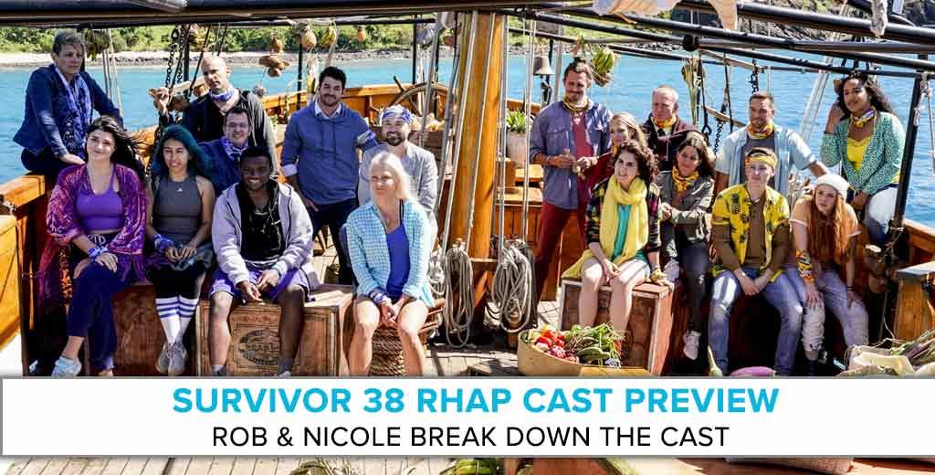 Survivor: Edge of Extinction | RHAP Cast Preview with Rob & Nicole