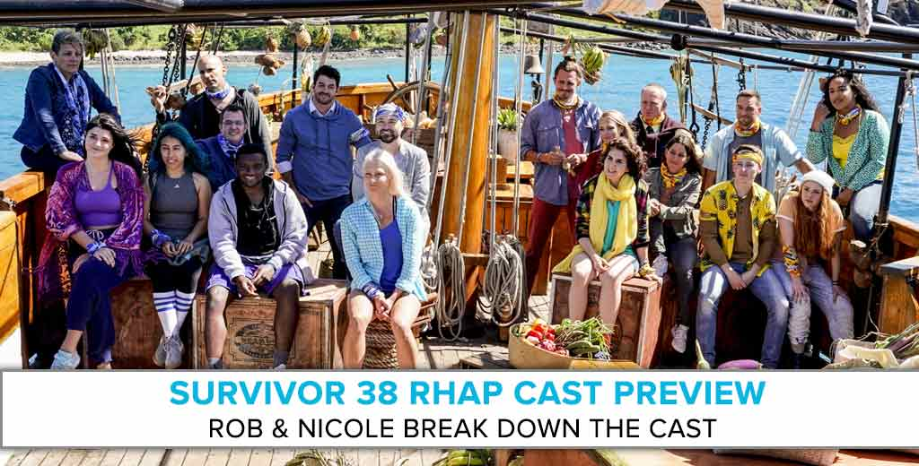 Survivor: Edge of Extinction   RHAP Cast Preview with Rob & Nicole