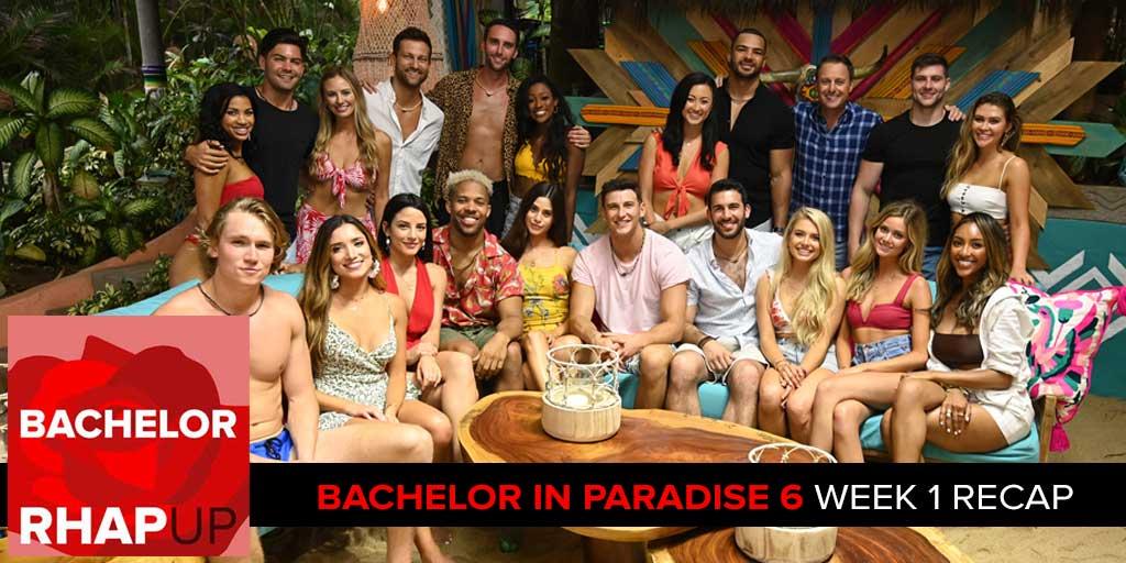 Bachelor In Paradise Season 6 Week 1 Bachelorette 15 With Hannah
