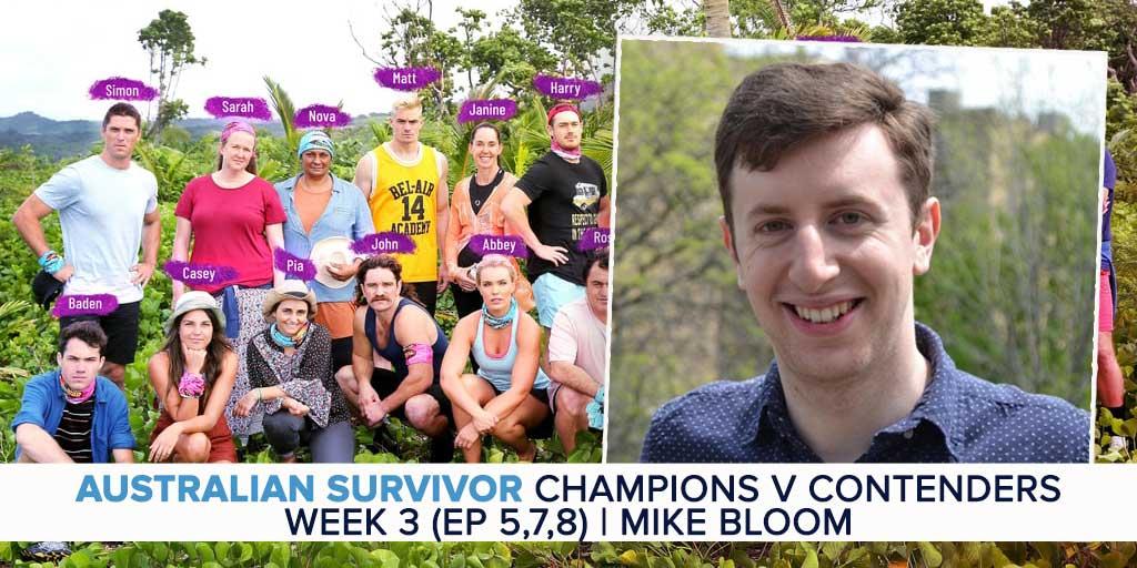 Australian Survivor 2019   Week 3 (Ep 6 – 8) Recap & Exit Interviews
