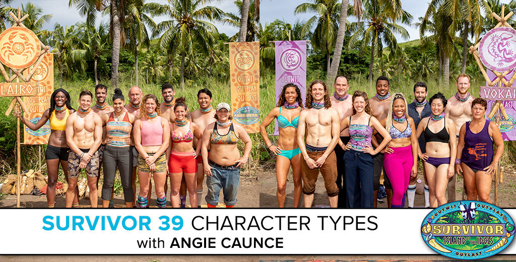 Survivor 39 Character Types