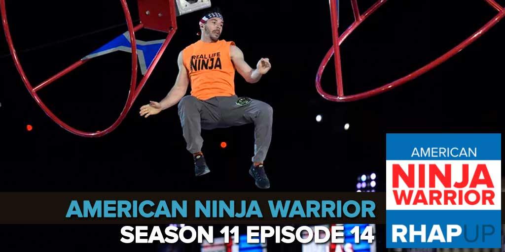 American Ninja Warrior Season 11   National Finals Week 2