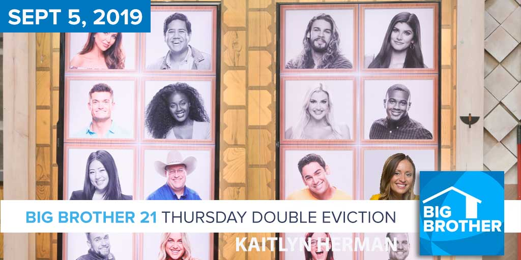 Big Brother 21 Thursday Night Sept 5 Double Eviction Recap
