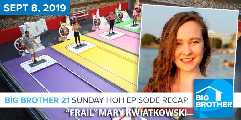 Rob Has A Podcast | CBS Survivor & Big Brother 21 Recap