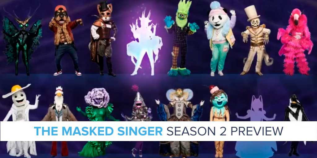 Image result for masked singer season 2