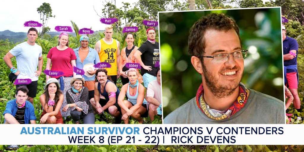 Australian Survivor 2019 | Week 8 (Ep 21 – 22) Recap & Exit