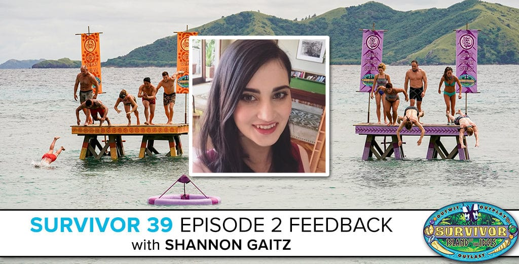 Survivor 39 Episode 2 Feedback