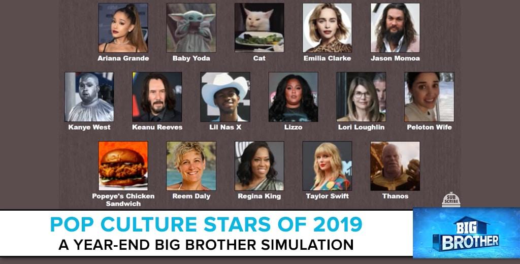 Big Brother Simulation