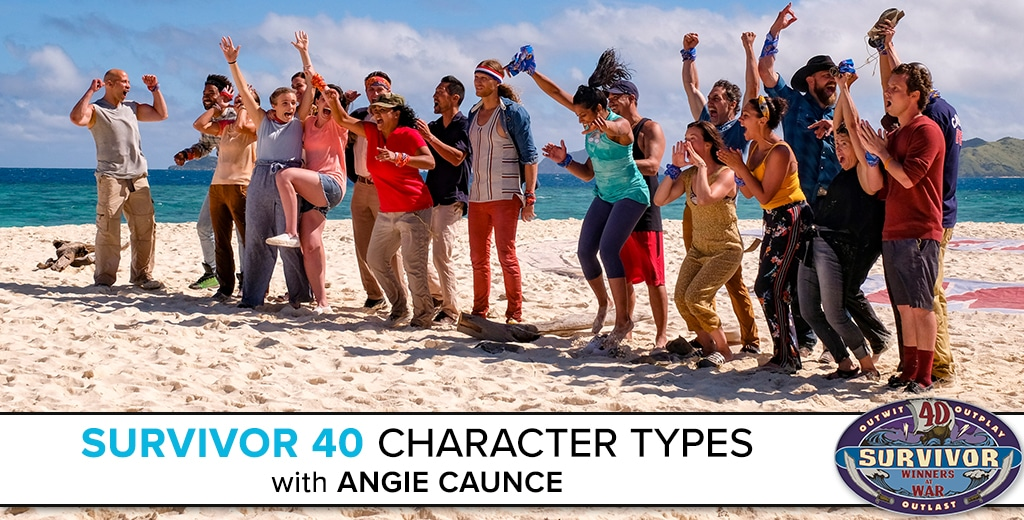 Survivor 40 Character Types