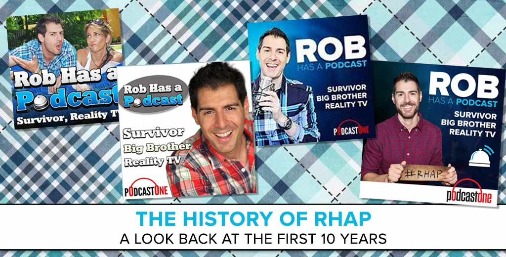 The History of RHAP: Rob Cesternino on 10 years of Rob Has a Podcast