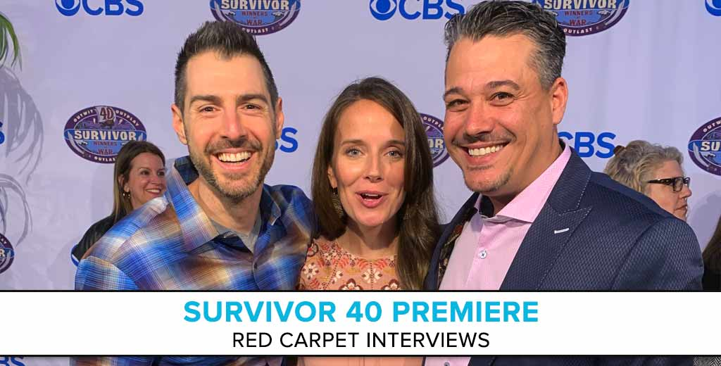Red Carpet Interviews from the Survivor 40 Premiere