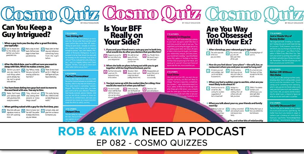 Cosmo Quizzes