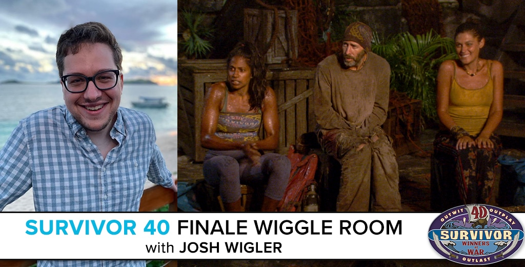 Survivor 40 Finale Wiggle Room
