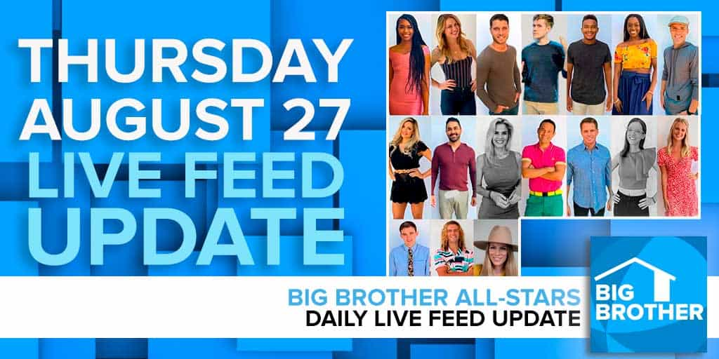 Big Brother Thursday Night Live Eviction