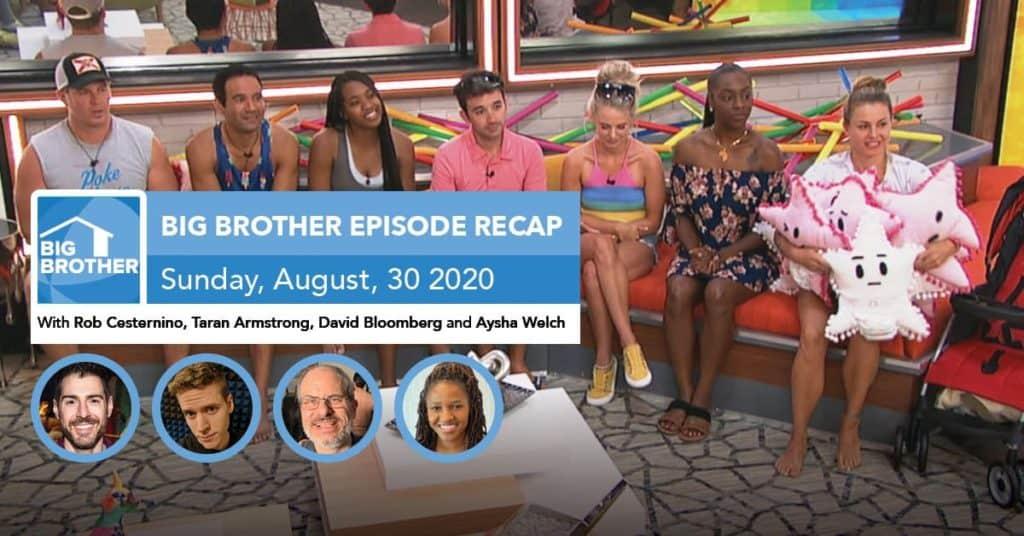 Big Brother All-Stars | Sunday 8/30 Episode Recap