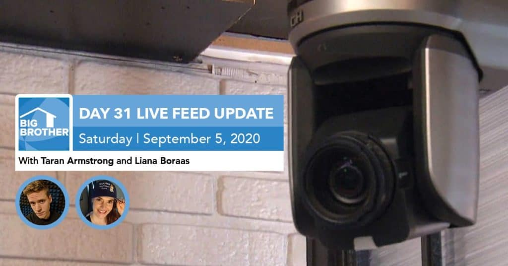 Big Brother All-Stars | Live Feed Update | Saturday, Sept 5, 2020