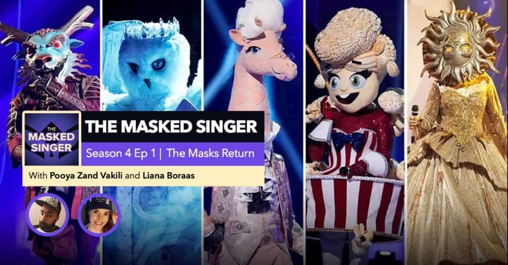 The Masked Singer | Season 4 Episode 1 RHAPup
