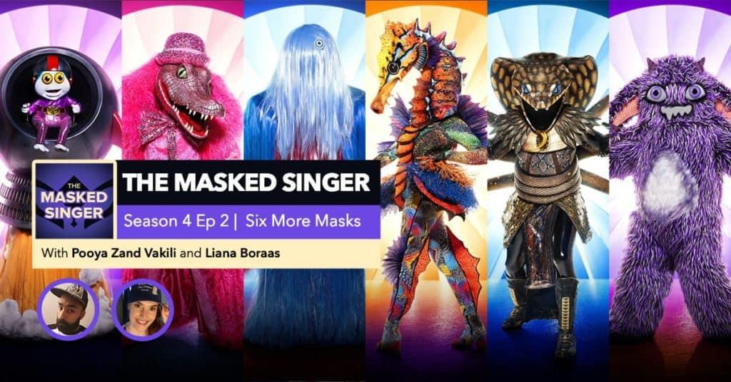 The Masked Singer | Season 4, Episode 2 RHAPup
