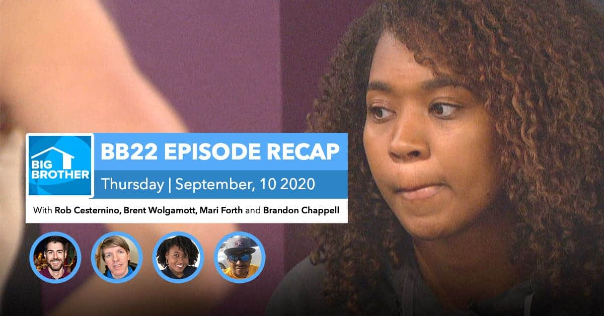 Big Brother All-Stars | Eviction Episode Recap | Thursday, Sept 10, 2020