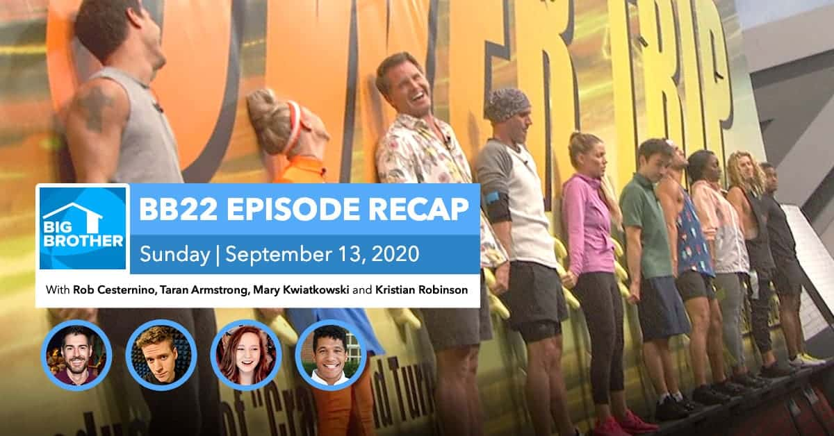 Big Brother All-Stars | Sunday 9/13 Episode Recap