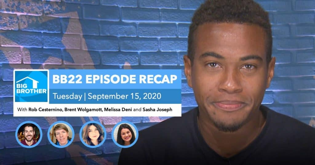Big Brother All-Stars | Tuesday 9/15 Episode Recap