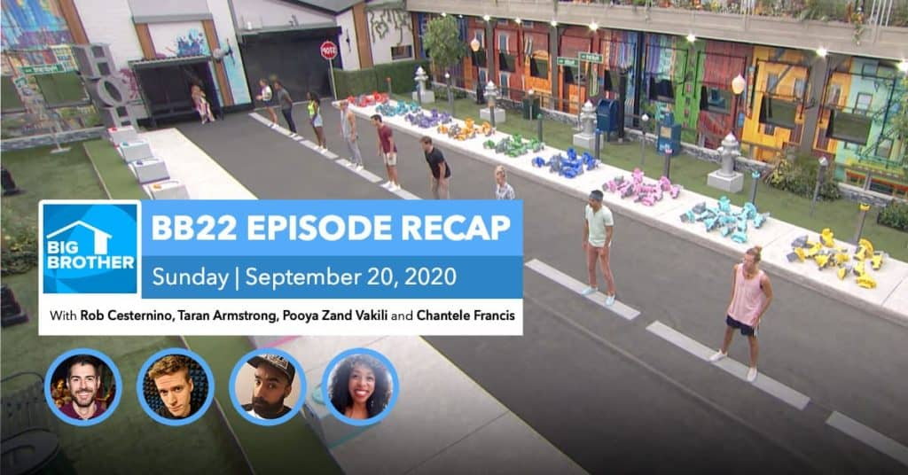 BB22 | Sunday 9/20 Episode Recap
