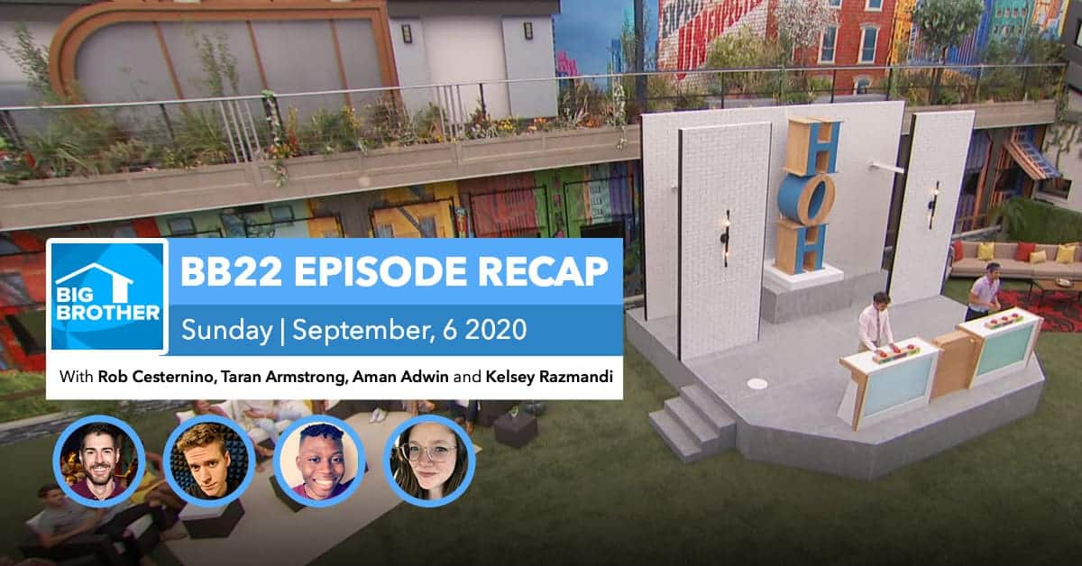 Big Brother All-Stars | Sunday 9/6 Episode Recap
