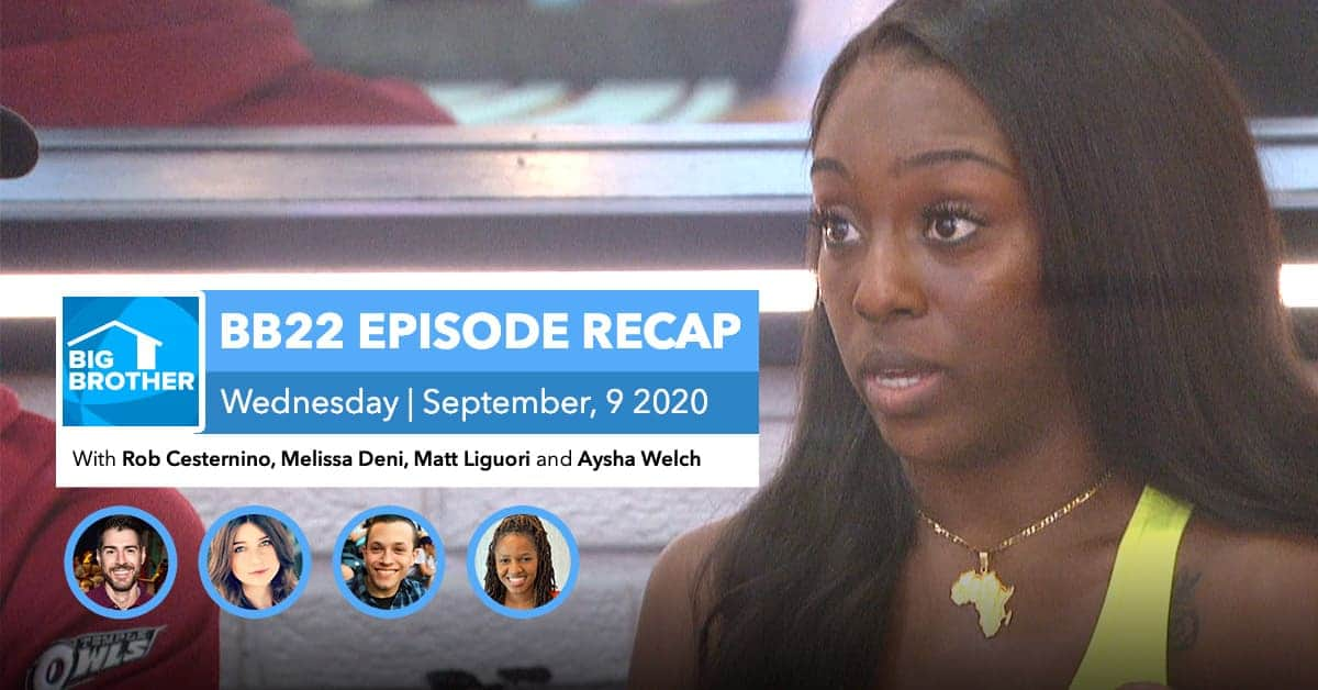 Big Brother All-Stars | Wednesday 9/9 Episode Recap