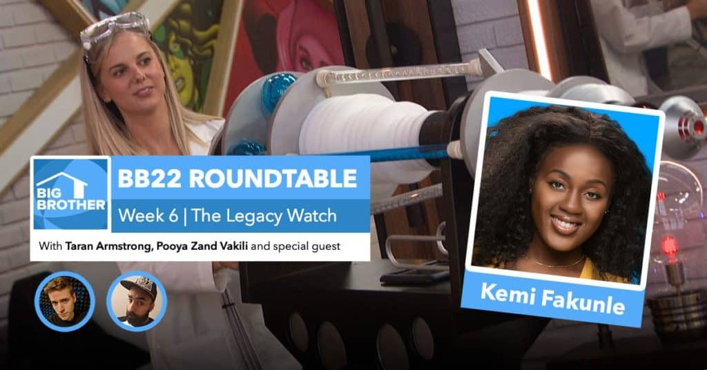BB22 | Saturday Roundtable Sept 19, 2020