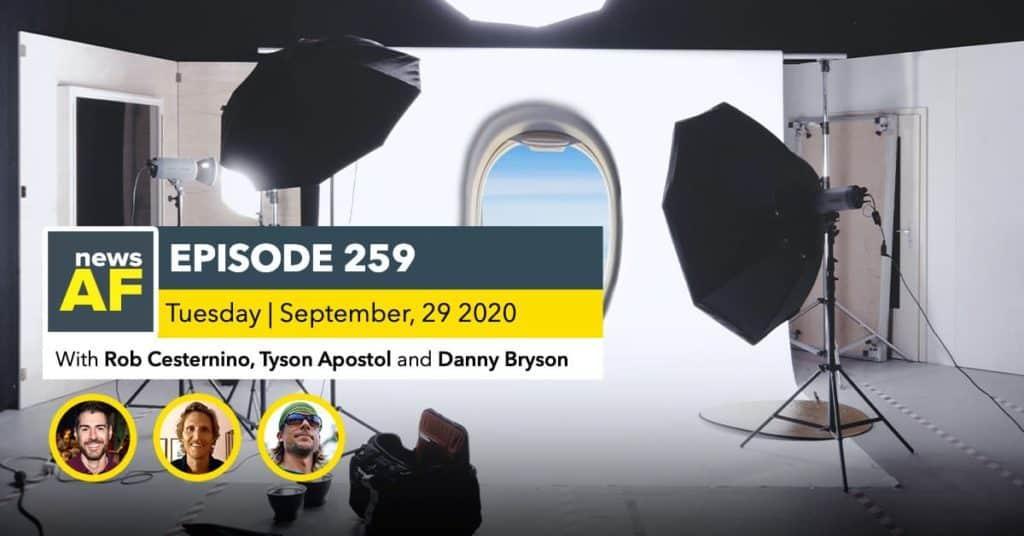 News AF | Fake Private Jet Stage for Influencers is News AF - Sept 29, 2020