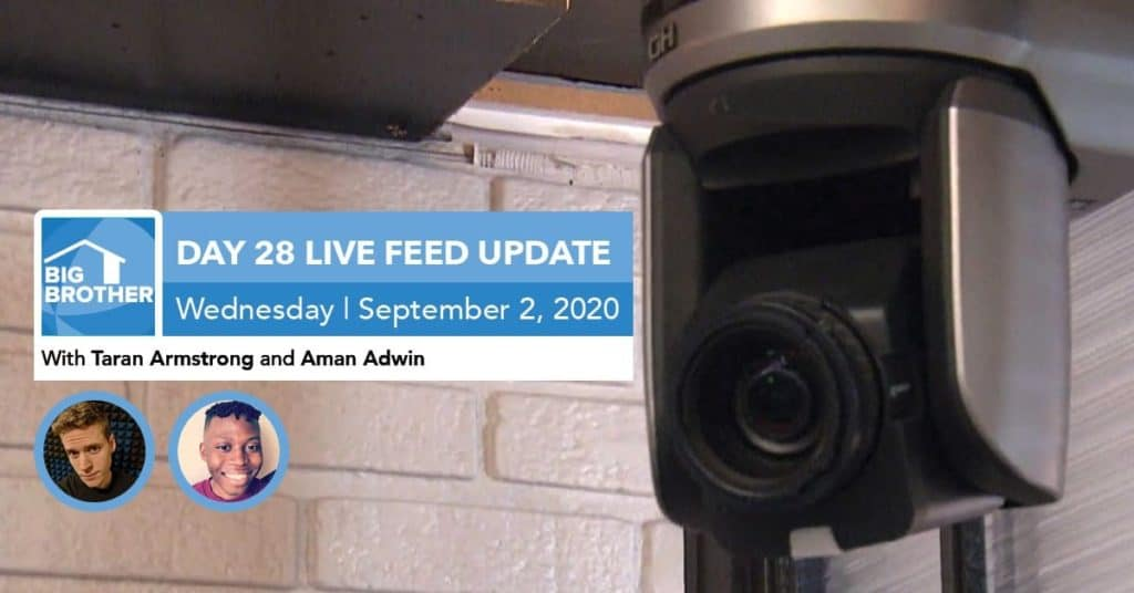 Big Brother All-Stars | Live Feed Update | Wednesday, Sept 2, 2020