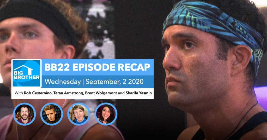 Big Brother All-Stars | Wednesday 9/2 Episode Recap
