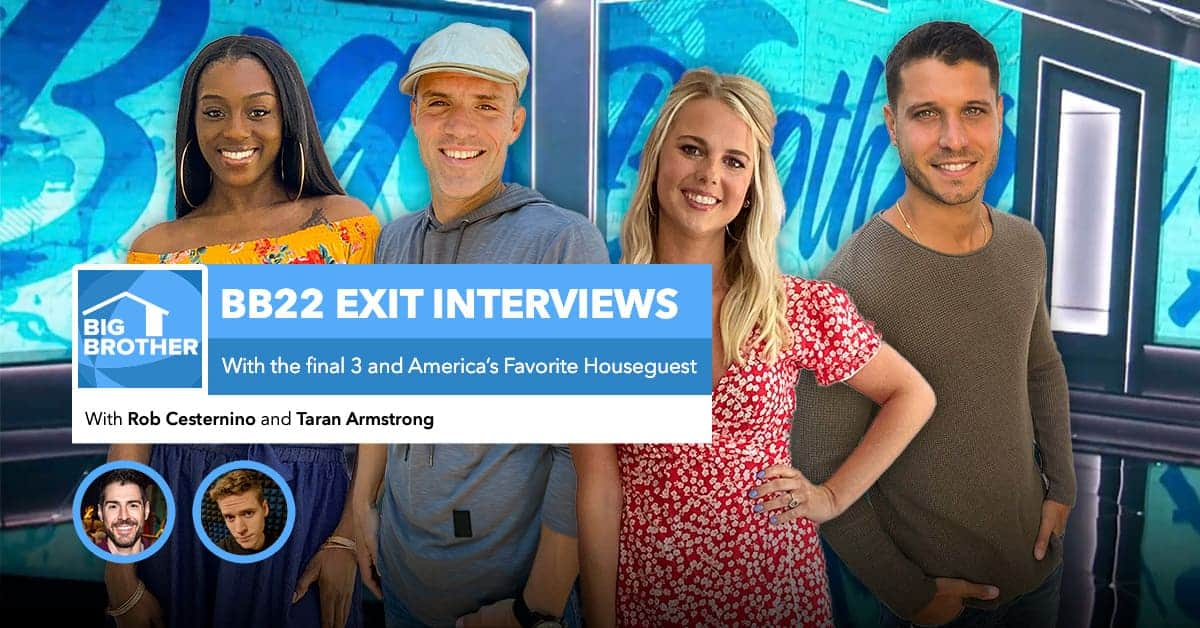 BB22 | Red Carpet Interviews | Final 3 and AFP