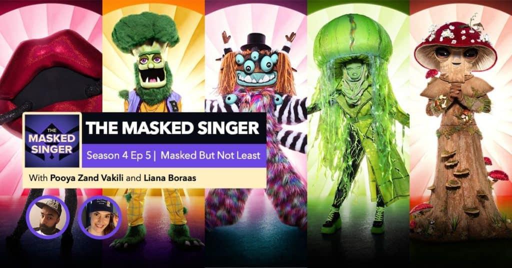 The Masked Singer | Season 4, Episode 5 RHAPup