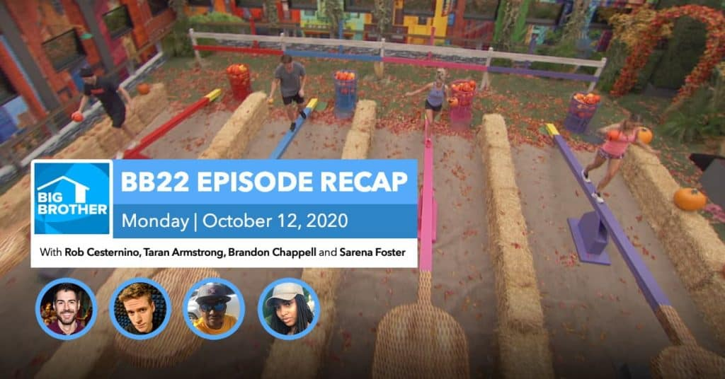 BB22 | Monday 10/12 Episode Recap