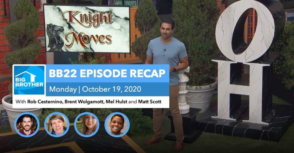 BB22 | Monday 10/19 Episode Recap