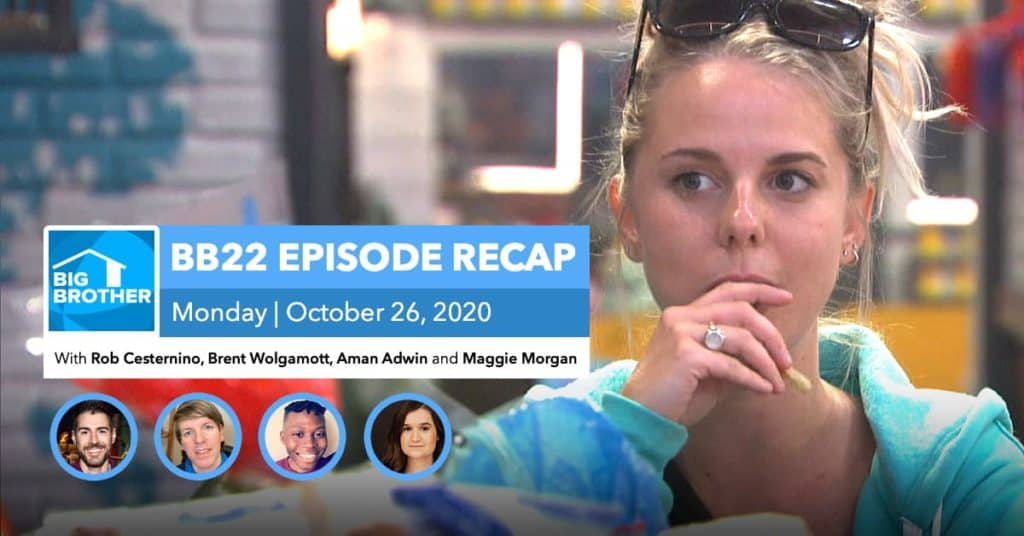 BB22 | Monday 10/26 Episode Recap