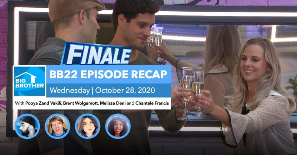 BB22 | Wednesday 10/28 FINALE Episode Recap