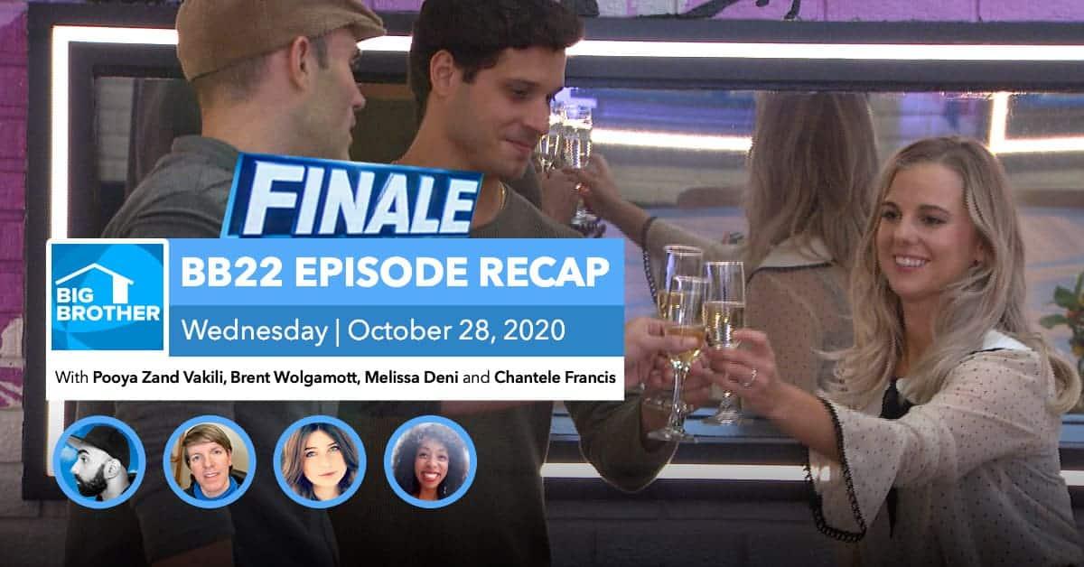 BB22 | Wednesday 10/28 FINALE Episode Recap
