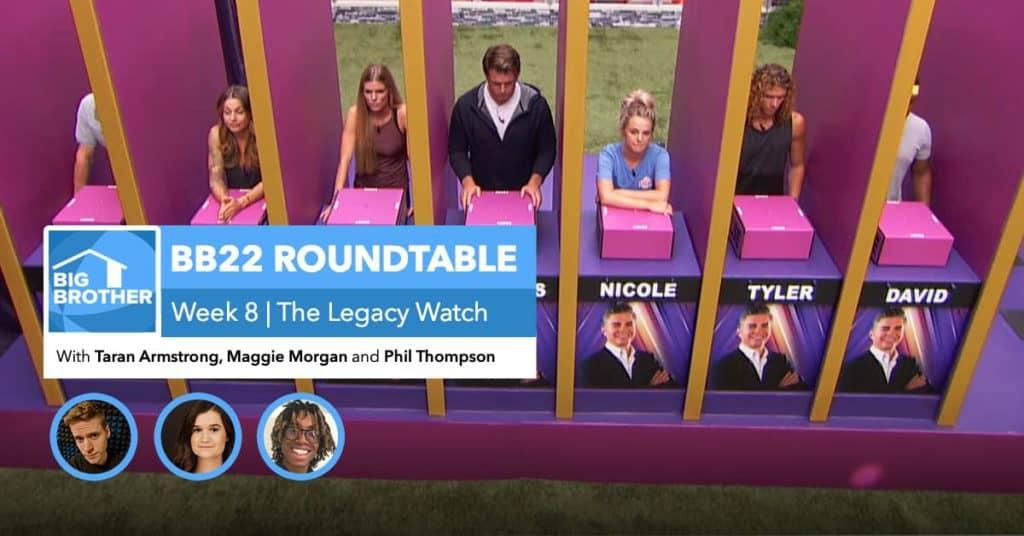 BB22 | Saturday Roundtable Oct 3, 2020
