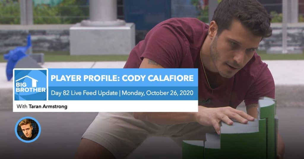 BB22 | Live Feed Update | Monday, Oct 26, 2020