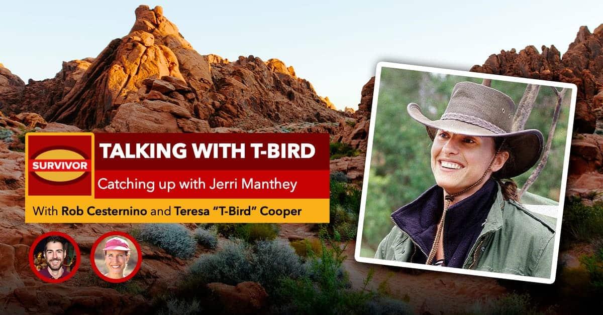 Talking with T-Bird: Jerri Manthey