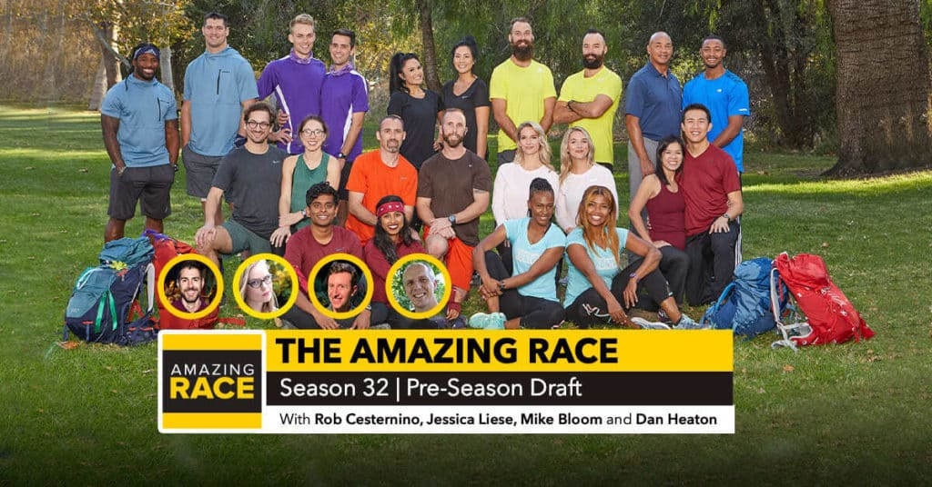 Amazing Race 32 | Pre-Season Draft