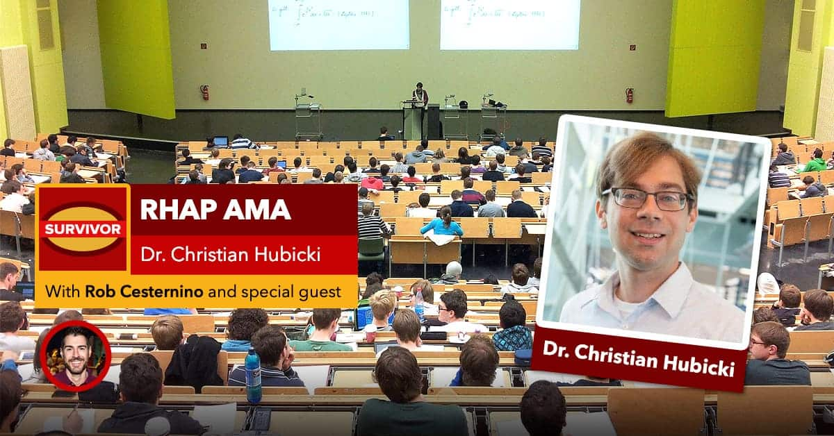 Ask Dr. Christian Hubicki