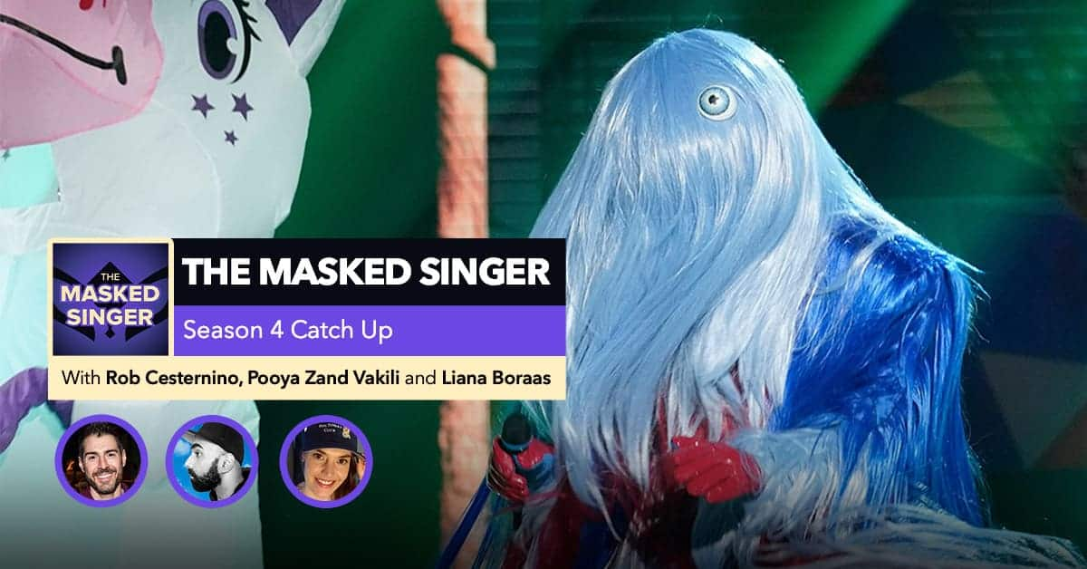 Getting Caught Up on The Masked Singer